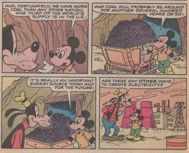 That Time Mickey Mouse and Goofy Shilled for Exxon at Disney World