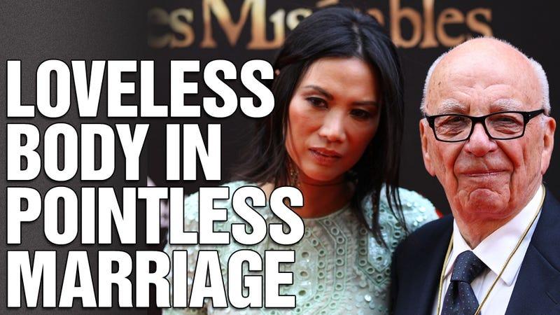 Rupert Murdoch Is Divorcing Wendi Deng