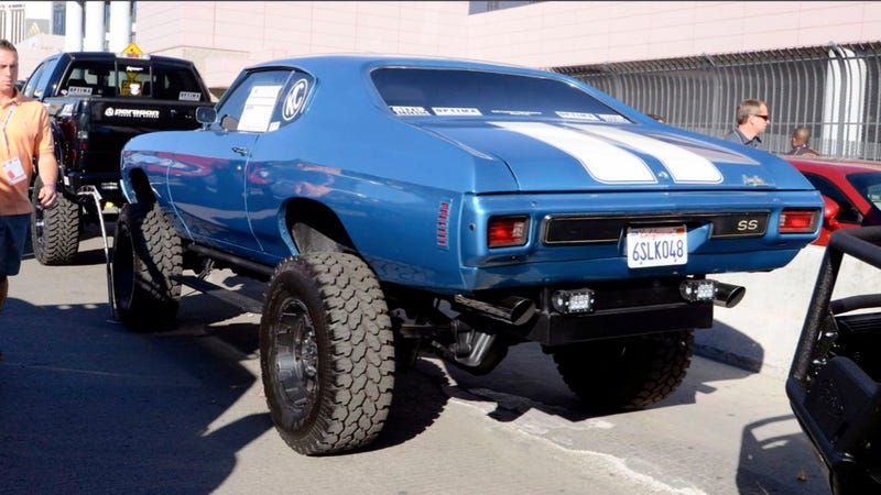 This Monster 4x4 Is A Terrible Waste Of A 1970 Chevrolet Chevelle