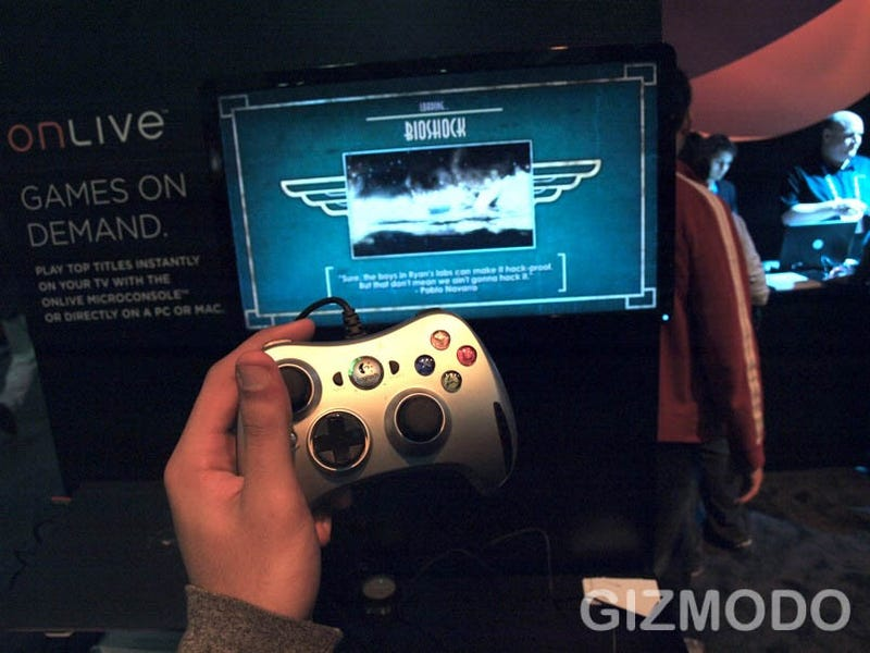 OnLive Beta Now Streaming Spectacular Games to Crappy PCs/Macs