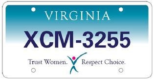 "Support Women's Health With ""Choose Choice"" License Plates"