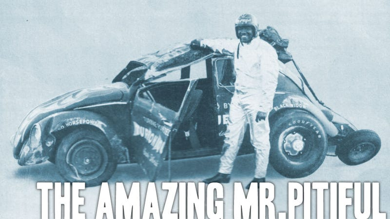"The Rocket-Powered Beetle-Driving ""Mr Pitiful"" Is A Black History Month Mystery"
