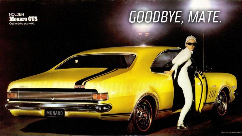 GM To Bid Holden G'Day In 2017