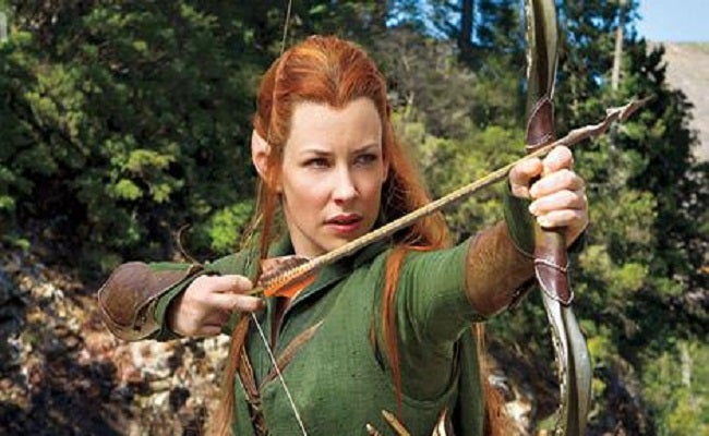 Evangeline Lily on Tauriel's story in The Desolation of Smaug