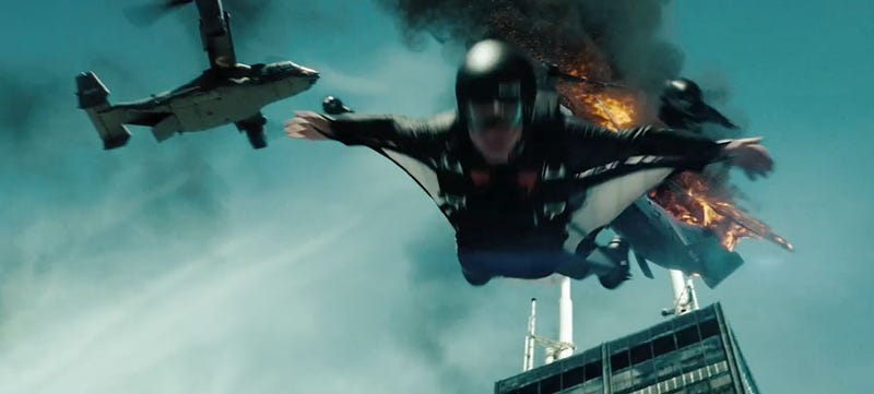 10 Of The Most Insane Death-Defying Stunts From Science Fiction Movies