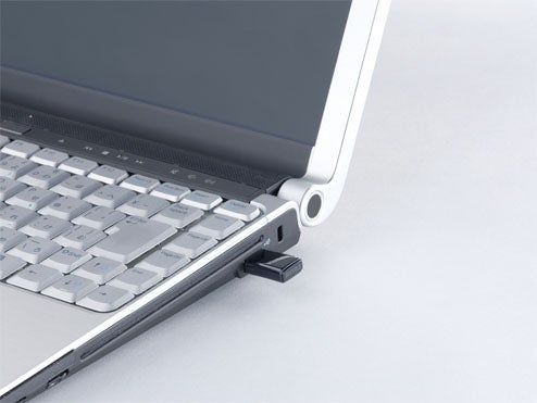 Buffalo Draft N Wireless Dongle Makes Your Netbook Look Huge
