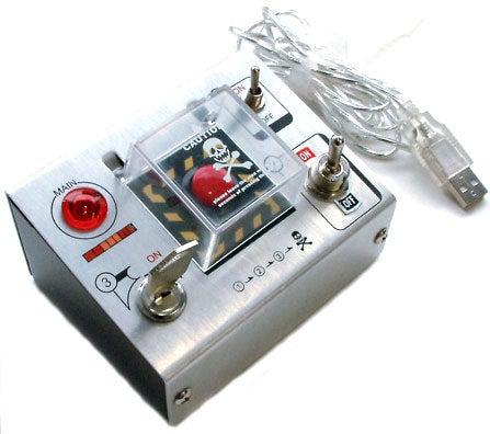 Self-Destruct Button USB Hub