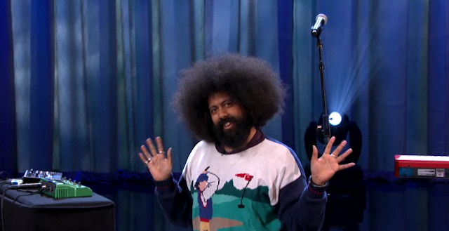 Reggie Watts Performs a Song for Black History Month