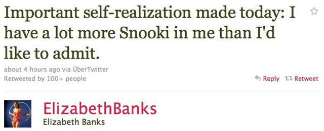 Elizabeth Banks Relates To Snooki