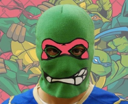A Teenage Mutant Ninja Turtle robbed a Wendy's in Wisconsin