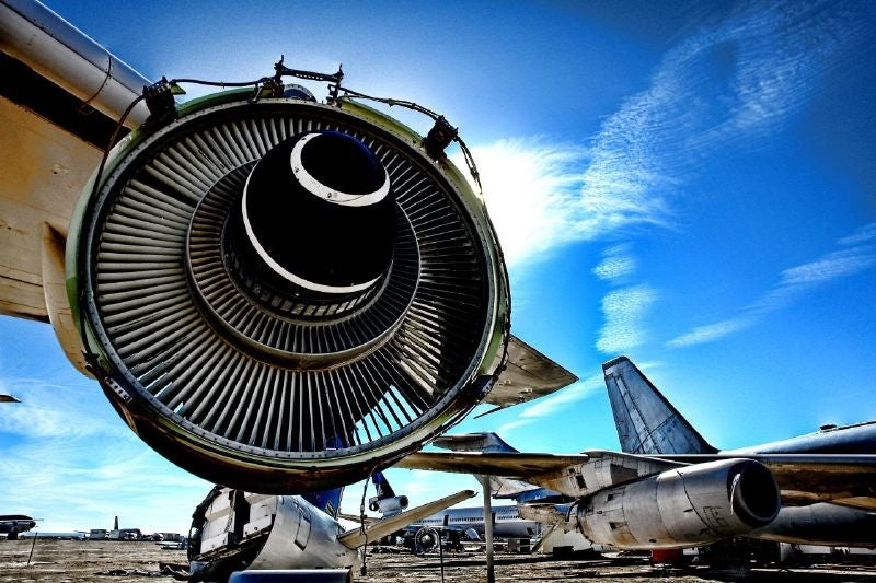 HDR Airplane Graveyard Photos Show Airplanes' Final Resting Place