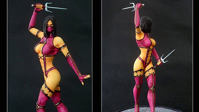This Mortal Kombat Statue Isn't Afraid to Show a Little Skin