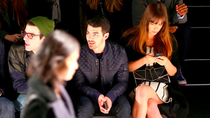 Joe Jonas Is Blogging About Fashion Week