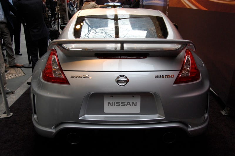 2009 Nissan NISMO 370Z: 350 HP Angry Catfish Unveiled Live In New York