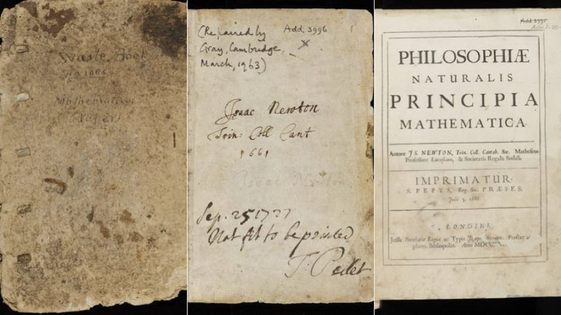 4,000 pages of Isaac Newton's personal notebooks are now available to view online