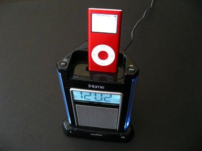 iHome iH4 Single-Speaker iPod Alarm Clock