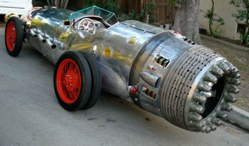 Awesome Rocket Car Doesn't Have Rocket, Does Sport Duallies