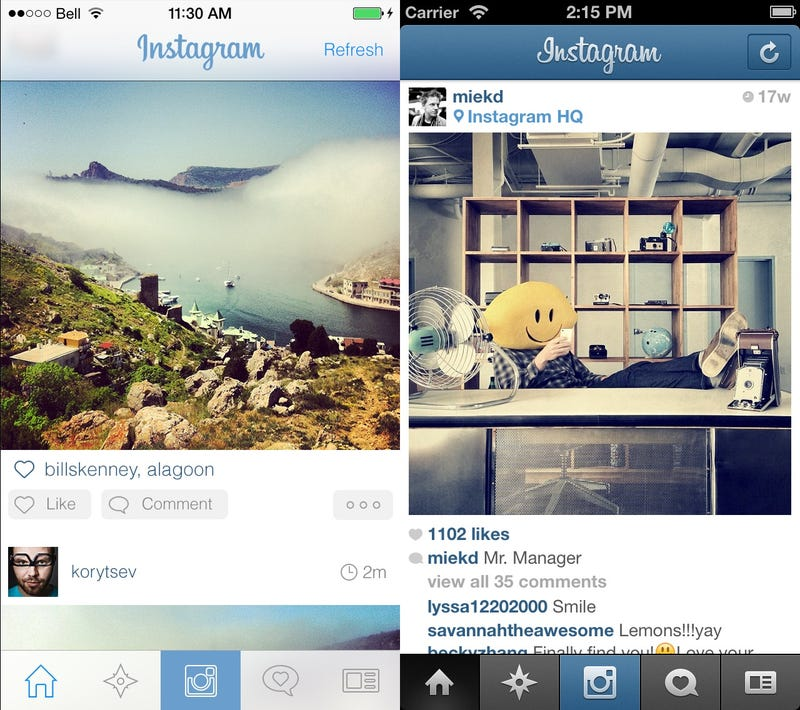 What Your Favorite iPhone Apps Might Look Like in iOS 7