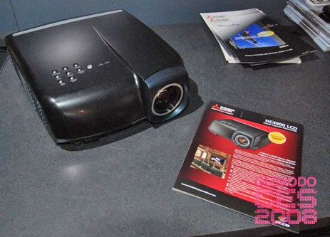 Eyes On the Mitsubishi HC4900U, Cheapest 1080p Projector in the World