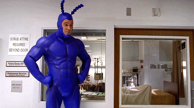 The Tick Is Being Revived, With Patrick Warburton To Star