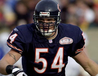 Brian Urlacher's Season Is Over