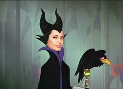 "Angelina Would ""Love"" To Play Evil Queen Maleficent"