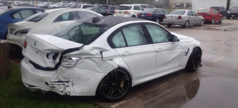 Who Destroyed These Two Brand New BMW M3s?