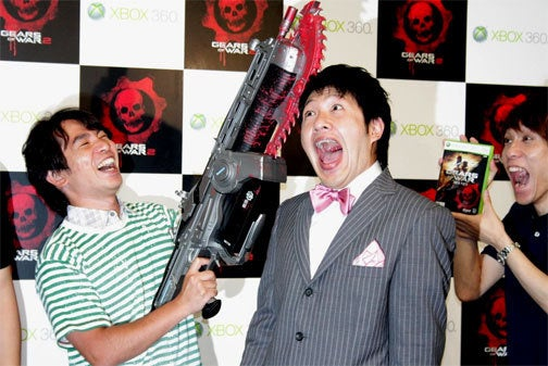 Gears Of War 2 Gets Night Vision Goggle Booty In Japan