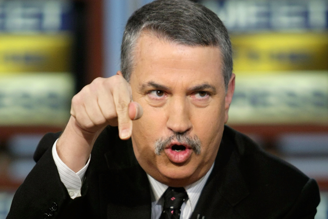 Thomas Friedman's Thumbs Firmly Grasp the English Language
