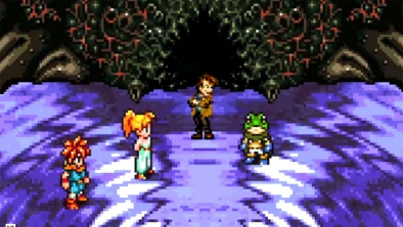 In Which the Chrono Trigger Crew Meet a True Time Traveler
