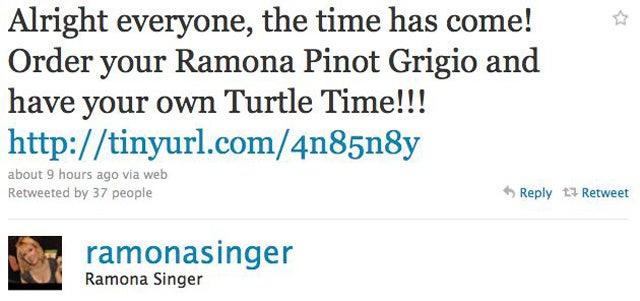Ramona Singer Releases Own Pinot Grigio