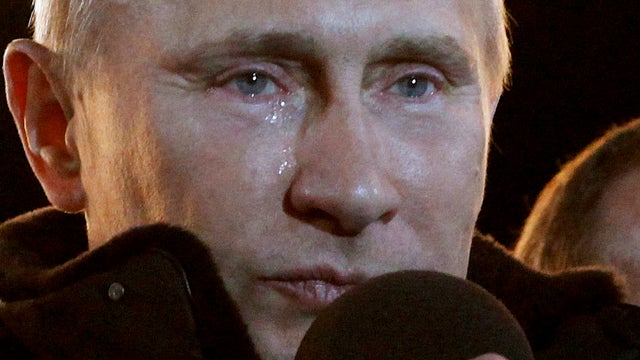 Vladimir Putin Has Feelings, Presidential Win