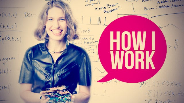 I'm Hilary Mason, and This Is How I Work