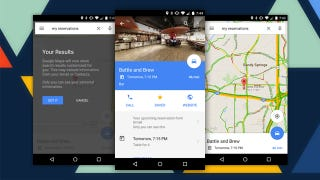 Google Maps Adds Your Event, Reservation, and Flight Results