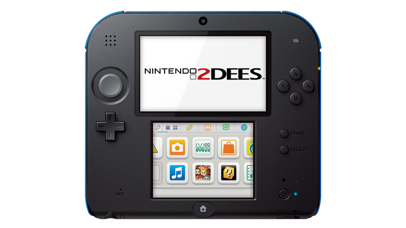 Introducing The Nintendo 2DEES... That IS a Mistake This Time
