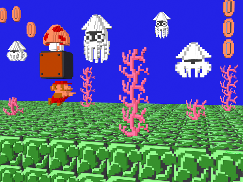 NES Games Renderings Make Great Background Desktops