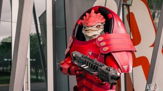 That's a damn fine Wrex. Cosplay by Thoroly-Good, photo by Fluffy Ltd,