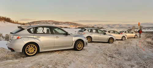 Gallery: Subaru Ice Driving In Mud, Utah, PR Photography