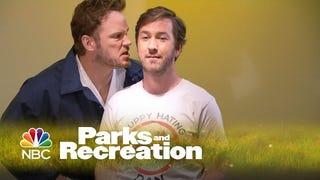 Chris Pratt Is BringingBurt Macklin Back to <i>Parks and Recreation</i>