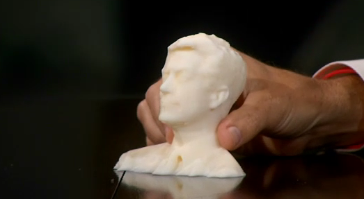 Watch Stephen Colbert Meet His MakerBot