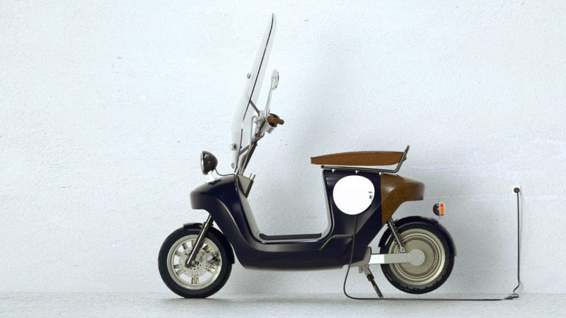 This Super-Cool Scooter Is Made From... Hemp?