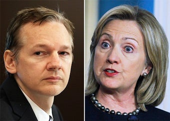 Julian Assange Calls for Hillary Clinton's Resignation