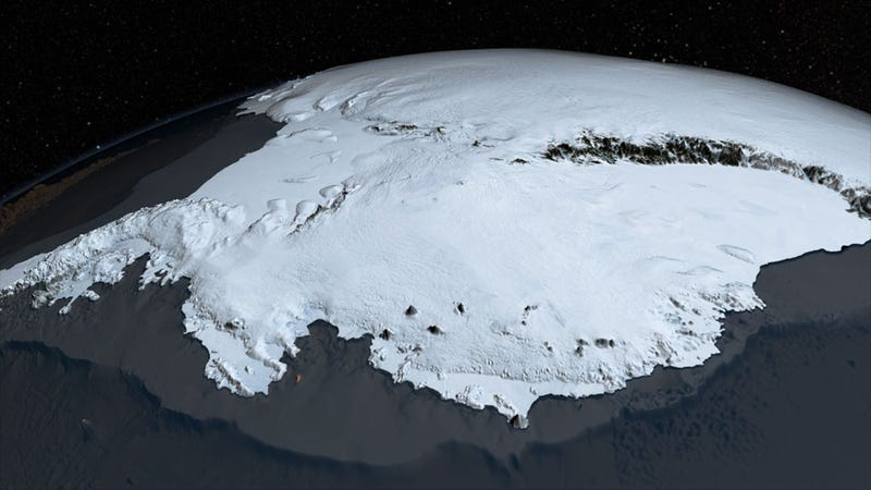 An Insanely Tiny Slice of Antarctica Isn't Buried in Ice