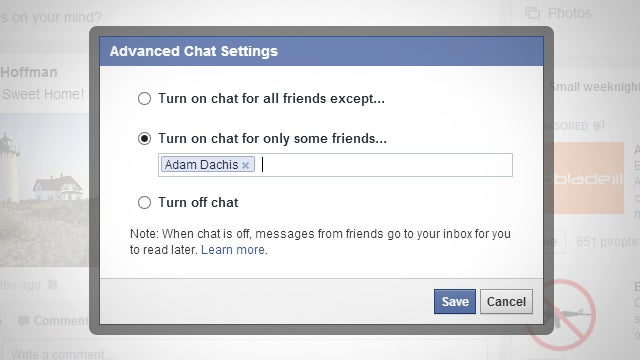 Turn On Facebook Chat for Only the Few People That Matter