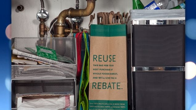 Desktop In-trays Keep Your Under-Sink Recycling Organized