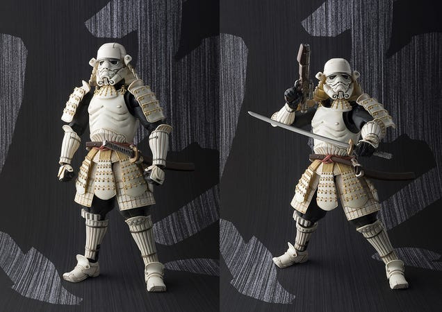 Cool samurai Star Wars clearly shows the saga's Japanese influences