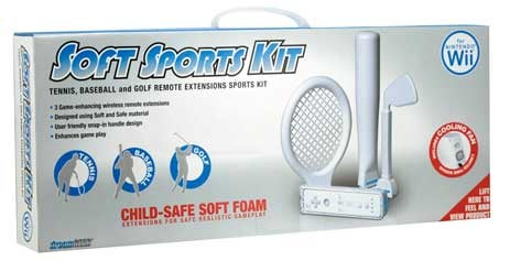 DreamGear Soft Sports Kit May Reduce Wii-Remote-Induced Facial Bruising