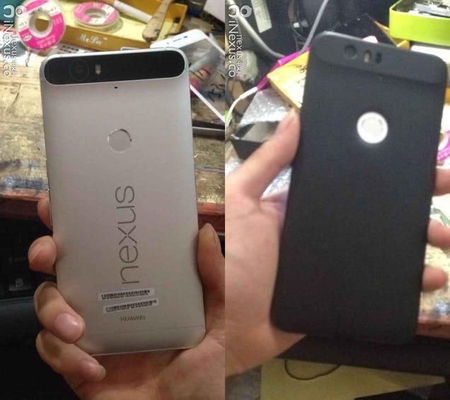 Leaked Pics of Huawei's Rumored Nexus Show Off One Bizarre-Looking Phone