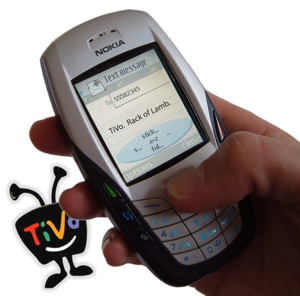 Kwiry Schedules TiVo Recordings via SMS