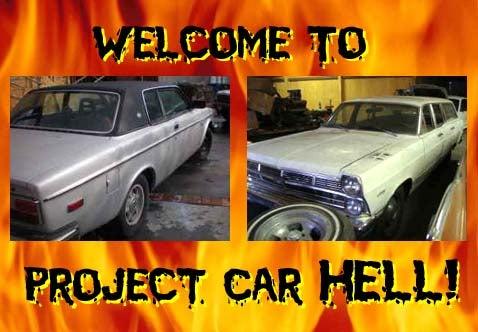 Project Car Hell: Fairlane Wagon or Volvo Bertone?